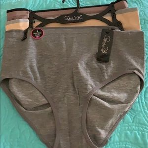 NWT Rene Rofe 3 pack plus size seamless panties